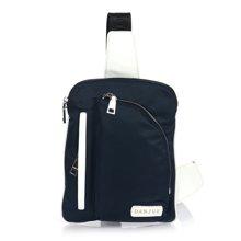 丹爵(DANJUE)男士小腰包时尚牛津布防水背包单肩斜挎小包休闲胸包多色可选90067-1