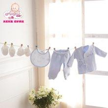 丑丑婴幼 春季新款新生婴儿用品五件套新生儿男女宝宝礼盒