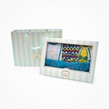 丑丑婴幼 男童礼盒装夏季新款男宝宝外出服礼盒套装宝宝礼盒2-3岁