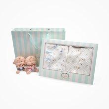丑丑婴幼新生儿礼盒套装秋季新款婴儿夹棉内衣套装礼盒宝宝礼盒
