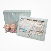 丑丑婴幼 婴儿套装礼盒秋季新款宝宝卡通纯棉内衣套装婴童礼盒