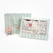 丑丑婴幼 宝宝成长礼盒组合装秋冬新品婴儿 家居服礼盒装周岁礼盒