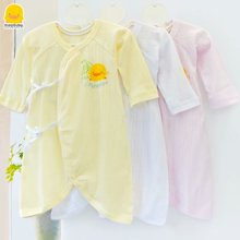 黄色小鸭 春夏棉直条提花蝴蝶装 152701
