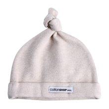 【Cottonshop棉店】两件装大促销舒绒布新生儿胎帽