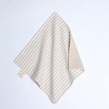 G100寄意百婴儿口水巾宝宝溢奶擦巾彩棉双面柔软小手帕