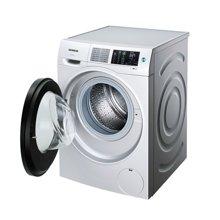 西门子(SIEMENS)WM12U4680W 9公斤 银色 变频节能 全自动滚筒洗衣机