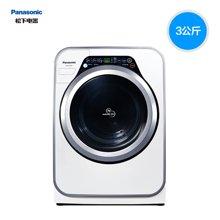 Panasonic/松下 XQG30-A3021滚筒迷你小型洗衣机婴幼儿宝贝星3KG