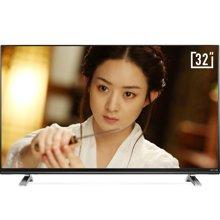 酷开(coocaa)K32小企鹅青春版 32英寸高清智能网络液晶平板电视 酷开系统 WiFi(黑色)