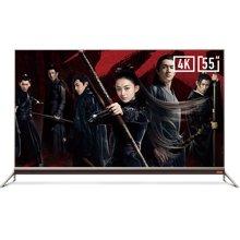 酷开(coocaa)55N2 55英寸24核HDR超薄智能液晶平板超高清4K电视 全国联保