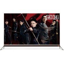 酷开(coocaa)50N2 50英寸24核HDR超薄智能液晶平板超高清4K电视 全国联保