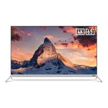 创维酷开65A2 65英寸4K超高清HDR金属超薄JBL音响智能液晶合体电视 创维出品  值得信赖