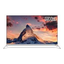 创维酷开55A2 55英寸4K超高清HDR 金属超薄JBL音响 合体电视 全国联保