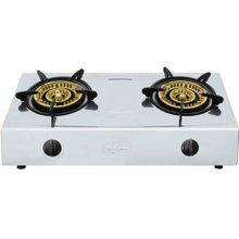 奇田(Qitian) JZY-A13-02 不锈钢台式燃气灶 双炉煤气灶