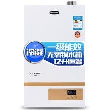 奇田(Qitian)JSLQ24-12L冷凝恒温 燃气热水器 12升热水器恒温热水器