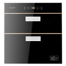 奇田(Qitian) ZTD-115-02 嵌入式消毒碗柜 紫外线臭氧高温消毒