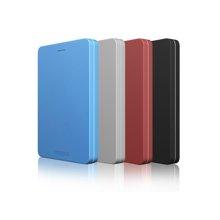 【送硬盘防震包】东芝移动硬盘(TOSHIBA)ALUMY系列 1TB 2.5英寸金属外壳移动硬盘