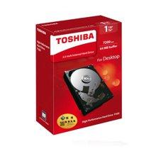 东芝(TOSHIBA)P300系列 1TB 7200转64M SATA3 台式机硬盘