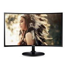 三星(SAMSUNG)C24F390FH 23.5英寸LED曲面背光显示器
