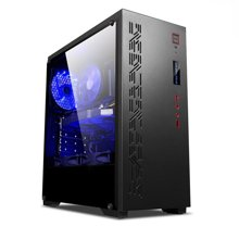 英特尔 十核二十线程i9 7900X/GTX1070图形工作站专业绘图视频剪辑深度渲染组装电脑主机