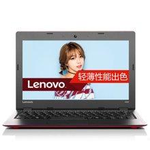 联想(Lenovo)Ideapad 100S 14英寸轻薄笔记本电脑(N3060双核 4G内存 128G固态 Win10)绚丽红\皓月银2色可选