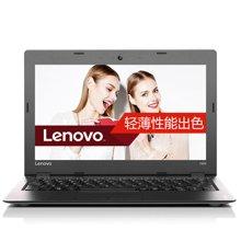 联想(Lenovo)Ideapad 100S 14英寸轻薄笔记本电脑(N3060双核 4G内存 128G固态 Win10)皓月银