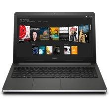 戴尔笔记本15.6英寸15UR-3528S银色i5-6200U 4G内存 500G硬盘 AMD R5 M335 2G独显  DVDRW光驱 WIN10