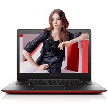 联想(lenovo)S41-35 14英寸笔记本电脑 超薄本 四核 A6-7310 4G 500G 2G 蔷薇红