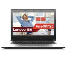联想(Lenovo)天逸300 14英寸笔记本电脑(i5-6200U 4G 500G 2G独显 DVD win10)黑色