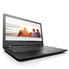 联想(Lenovo) Ideapad110 15.6英寸笔记本电脑商务办公轻薄游戏手提本 i7-7500 4G 1TB 2G独显 黑色