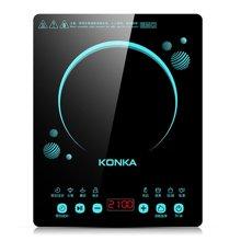 康佳电磁炉KEO-21CS299CB 新品节能电磁炉 全屏触屏 黑色微晶面板 额定功率2100W