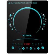 康佳电磁炉KEO21CS319CB(TCE)触控面板 24小时预约 赠送不粘炒锅 双层蒸锅