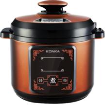 康佳电压力锅KPC-50ZS608 按键操作,额定功率900W。容量5升。