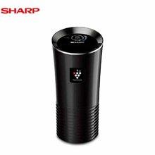 夏普(SHARP) IG-GC2Z-B 除异味除菌可拆洗滤网 进口车载空气净化器 黑色