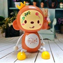 I-CUE 艾可优 9905(11-13)大风力大嘴猴USB充电手持小风扇/皇冠猴风扇/卡通小风扇学生礼品