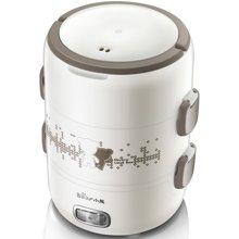 小熊 电热饭盒DFH-S2358三层可插电保温加热蒸煮不锈钢电饭盒