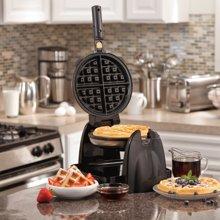 汉美驰 华夫饼机多功能电饼铛家用双面加热全自动松饼机华夫炉