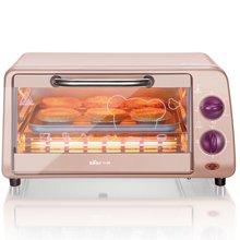 【入门级烘焙首选】Bear/小熊 DKX-A09A1多功能家用电烤箱  粉红色9L