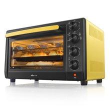 小熊(Bear)电烤箱家用烘焙蛋糕多功能独立控温32L旋转烤叉烧烤DKX-C32U5
