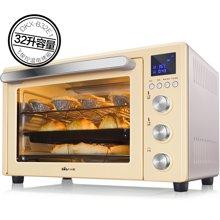小熊(Bear)电烤箱电子式家用智能多功能32L大容量烘焙蛋糕烤炉箱DKX-B32E1