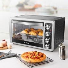 康佳电烤箱KAO-3018 30升四旋钮 上下四管加热