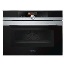 西门子(SIEMENS)电烤箱 CS656GBS1W氧化自清洁紧凑型蒸汽烤箱,蒸烤一体箱47L