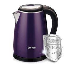 SUPOR/苏泊尔电热水壶SWF17E18A/C(随机发) 304不锈钢电水壶保温烧水壶特价