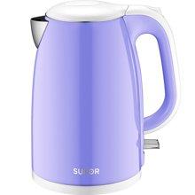 SUPOR/苏泊尔 SWF15E19A电热水壶304不锈钢烧水壶电水壶保温防烫