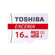 东芝TF卡 16G内存卡 U3 90M高速 行车记录仪Micro TF卡手机存储卡