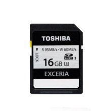 TOSHIBA东芝SD卡16G 高速单反存储卡 U3相机内存卡 SDHC大卡