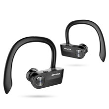 用维真无线蓝牙耳机 T2运动音乐跑步迷你挂耳入耳式双耳蓝牙耳麦 苹果华为小米手机通用