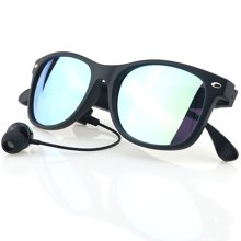 leapower 蓝牙智能眼镜 立体声耳机听歌接打电话 男女近视框K3-P墨镜