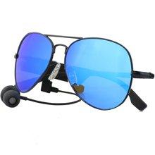 leapower 蓝牙智能眼镜 男女休闲太阳偏光墨镜 立体声耳机听歌接打电话K3-A