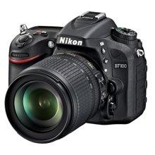 尼康(Nikon) D7100 单反套机(AF-S DX 18-105mm f/3.5-5.6G ED VR 防抖镜头)2410万有效像素,51点对焦无低通!锐利成像,以质取胜!