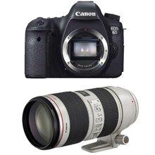 佳能(Canon) EOS 6D 单反套机(70-200mm f/2.8L IS II USM 镜头)